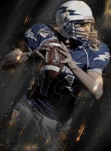 athlete football